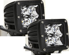 20221 - RIGID INDUSTRIES DUALLY D-SERIES HYBRID SPOT PATTERN WHITE LED SET OF TWO LIGHT