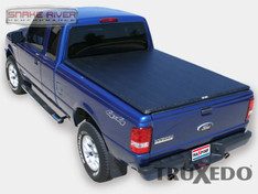 250601 - TRUXEDO TRUXPORT SOFT ROLL UP TONNEAU COVER 82-11 FORD RANGER 7 FT BED NO FLARE