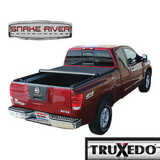 207701 - TRUXEDO TRUXPORT SOFT ROLL UP TONNEAU COVER 2008 - 2015 NISSAN TITAN 7' BED