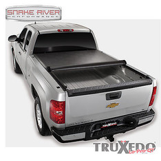 572201 - TRUXEDO LO PRO QT SOFT ROLL UP TONNEAU COVER 14-15 CHEVY GMC 1500 8' BED