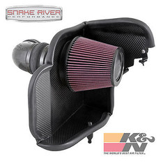 63-3079 - K&N PERFORMANCE AIRCHARGER COLD AIR INTAKE 2012-15 CHEVY CAMARO ZL1 6.2L