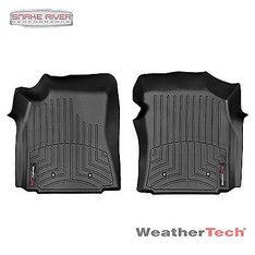 440011 - WEATHERTECH DIGITAL FIT FRONT FLOOR LINER 2000-2004 TOYOTA TUNDRA BLACK