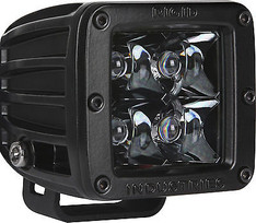 201213BLK - RIGID INDUSTRIES MIDNIGHT EDITION D-SERIES SPOT LED LIGHT SINGLE BLACK - 20121BLK