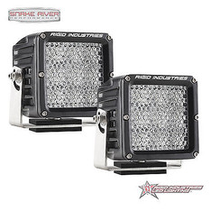 32231 - RIGID INDUSTRIES DUALLY XL SERIES HYBRID DIFFUSED LED LIGHT PAIR BLACK