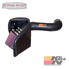 57-1546 - K&N PERFORMANCE COLD AIR INTAKE SYSTEM FOR 05-10 DODGE RAM DAKOTA 4.7L