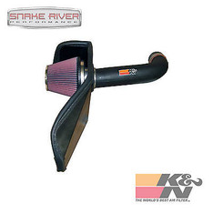 57-1547 - K&N PERFORMANCE COLD AIR INTAKE SYSTEM FOR 05-06 DODGE RAM DAKOTA 3.7L