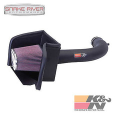 57-1537 - K&N PERFORMANCE COLD AIR INTAKE SYSTEM FOR 02-10 DODGE RAM 1500 3.7L