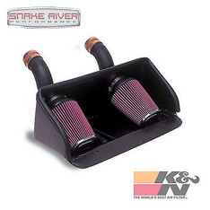 57-1508 - K&N PERFORMANCE CARBON FIBER COLD AIR INTAKE SYSTEM FOR 95-98 DODGE VIPER 8.0L