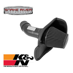 71-2545 - K&N BLACKHAWK DRY COLD AIR INTAKE 12-18 DODGE CHARGER CHALLENGER 6.4L