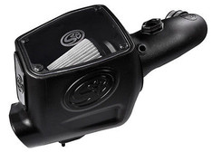 75-5105D - S&B COLD AIR INTAKE 08-10 FORD POWERSTROKE DIESEL 6.4L F250 F350 F450 DRY FILTER