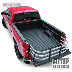 74814-00A - AMP RESEARCH BEDXTENDER MAX 99-15 FORD SUPER DUTY F250 F350 STANDARD BED SILVER