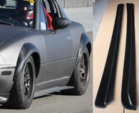1990-1997 Mazda Miata NA Side Skirt Diffusers Splitters Extensions