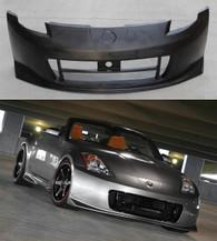 Nissan 350Z Nismo V2 Style Front Bumper - Polyurethane