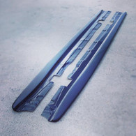 BMW E92 M3 Side Skirt Extensions Diffusers Splitters