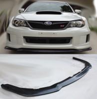 2011-2014 Subaru Impreza WRX STi Bumper Lip Spoiler - Polyurethane