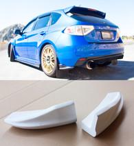 2008-2012 Subaru WRX STi Hatchback CS Rear Bumper Lip Spats