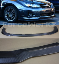 2011-2013 Subaru WRX STi Bumper Lip Spoiler - Carbon Fiber