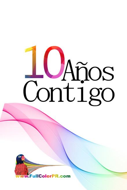10 Posters Gratis al Comprar 5000 Postcards 4x6 Full Color