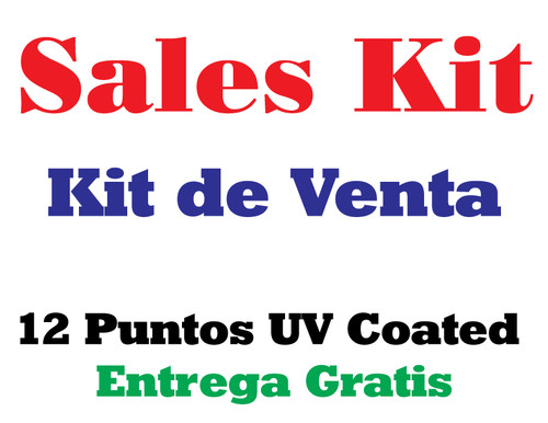 Press Kit de Venta Entrega Gratis todo Puerto Rico