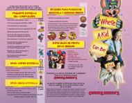 Brochure Full Color con entrega Gratis para Puerto Rico, Excelente Calidad de Impresion con AQ Finish.