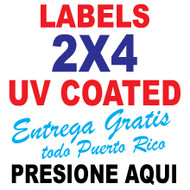 Labels 2 x 4 Full Color