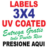 3 x 4 Labels Full Color
