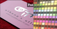 Foil Label Full Color UV Coated