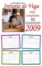 Calendario de 8 Paginas desde $49.99 Entrega Gratis