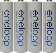 Newest Version Panasonic Eneloop 4 Pk AA 2100 Cycles NiMH Rechargeable Batteries