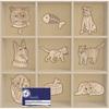 Aurelie - Wooden Ornaments - Cats & Dogs