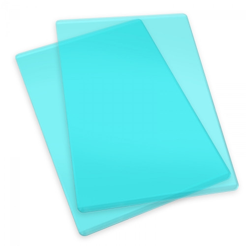 Sizzix Accessory - Cutting Pads, Standard, 1 Pair (Mint)