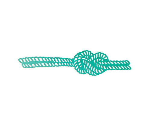 Couture Creations - Intricutz Dies - Sea Breeze Collection - Figure 8 Knot