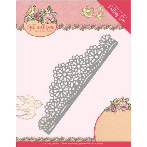 Yvonne Creations - Cutting Die - Flower Border