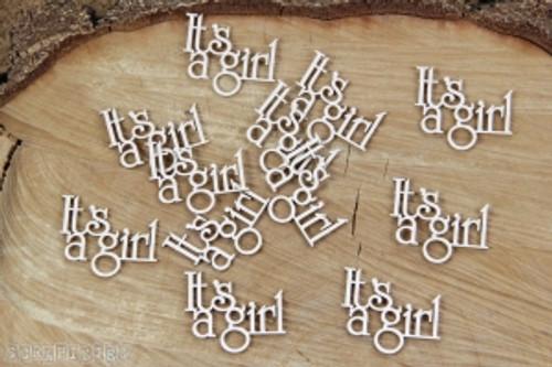 Scrapiniec - Decorative Chipboards - It's A Girl