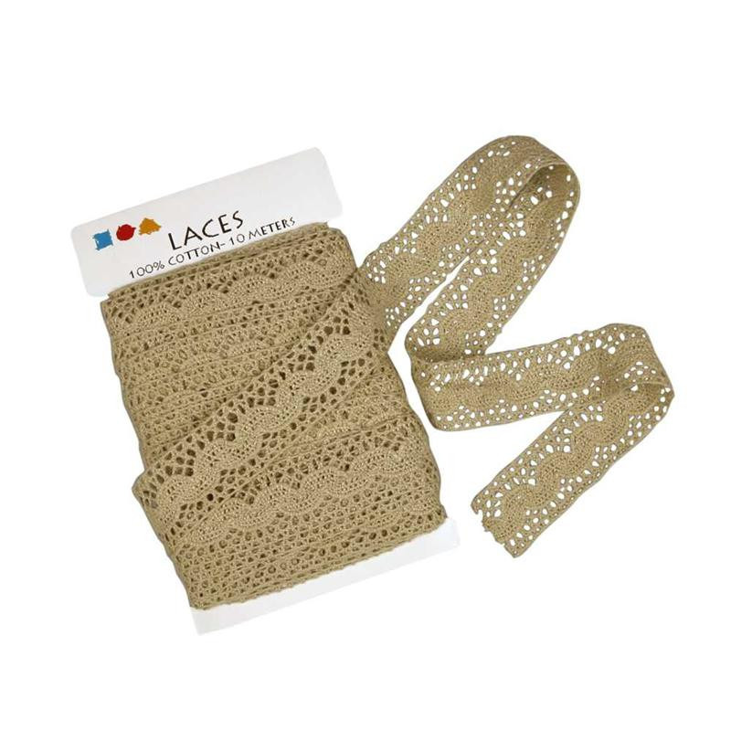 Lace border 30mm, natural