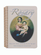Booklet: Illustrated Rosary, Spiral Bound (0882710549)