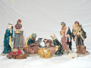 Large Nativity Set 65cm Poly Vinyl (NS6511)
