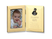 Hinged Photo Frame: Grandchild/Baptism