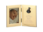 Hinged Photo Frame: Godchild/Baptism