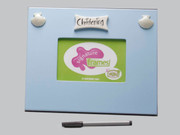 Signature Photo frame: Christening Blue
