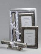 Christening Gift Set, Frame and Certificate Holder