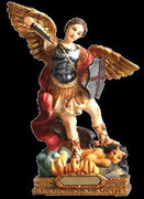 Resin Statue, St Michael 120mm