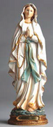 Resin Statue: O L  LOURDES 30cm