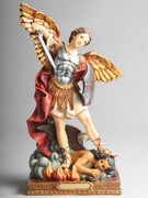 ST MICHEAL RESIN STATUE 30CM (STR1219)