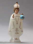 Plastic Luminous Statue, Infant of PRAGUE 15cm