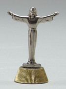 Magnetic Metal Statuettes:  RISEN CHRIST