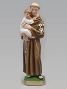 Plaster Statue: St Anthony 40cm