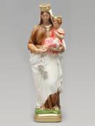 Plaster Statue: O.L. Mt Carmel 30cm