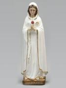 Plaster Statue: Rosa Mystica 50cm
