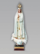 Plastic Statue Our Lady FATIMA 69cm